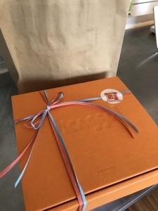 オレンジの箱が可愛い♡